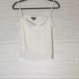 NEW TOPSHOP White Polyester Cami - 4